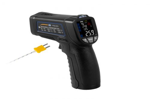 Infrared Thermometer PCE-675 incl. Type K