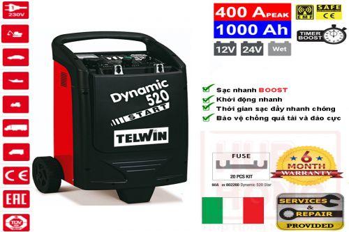 Bộ Sạc Ắc Quy Telwin DYNAMIC 520 START